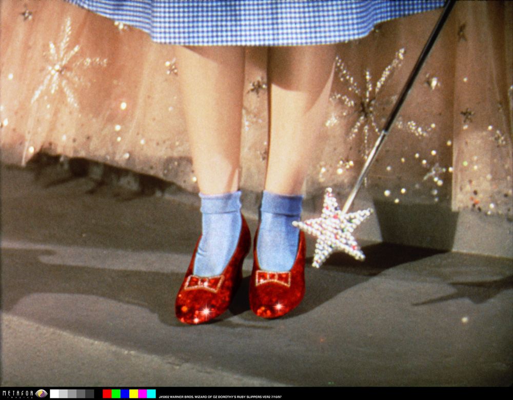 The Wizard of Oz_Dorothy and the Slippers