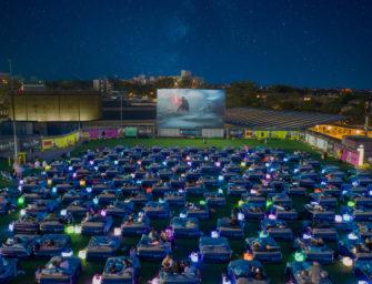 Brisbane's First Outdoor Bed Cinema
