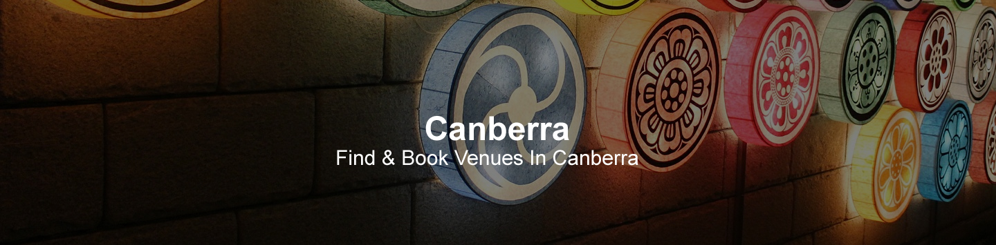 Canberra Venues and Suppliers