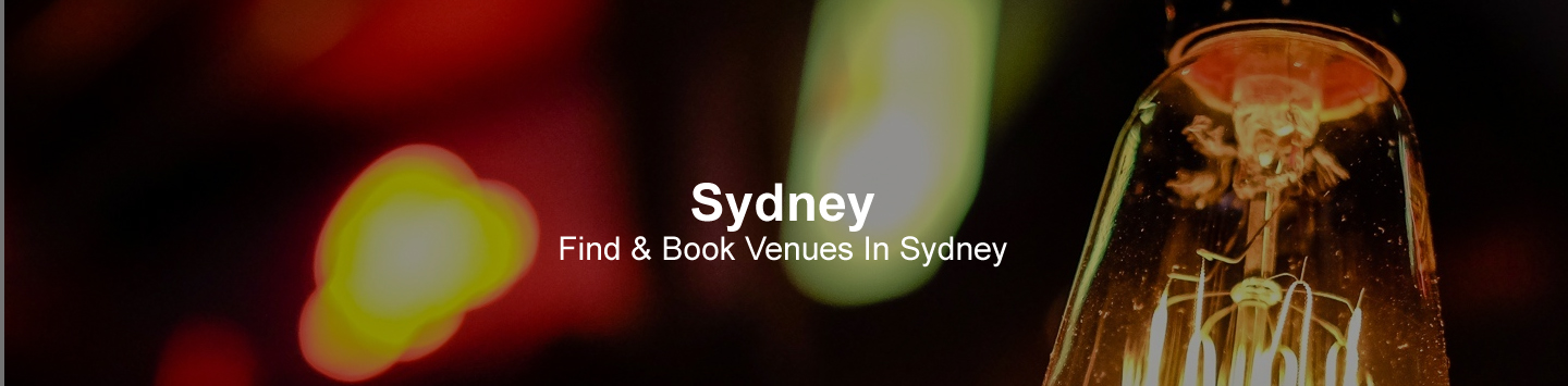 Sydney Venues and Suppliers