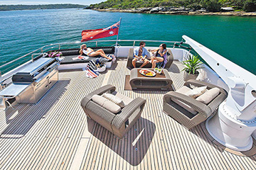 Oscar 2 - Sydney Yacht Charters Pyrmont